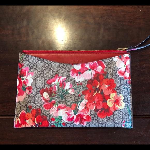 9327bb56b6ca58 Gucci Inspired Bags | Gg Blooms Wristlet | Poshmark